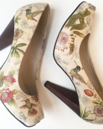 Shoe Decoupage Workshop
