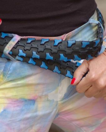 Create Your Own Up-Cycled Tyre Belt