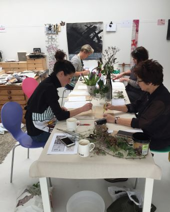 Lino Printmaking Workshop in a Beautiful Location