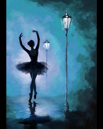Painting Night - Dance in the Dark