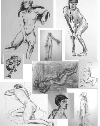 Making a Mark Life Drawing Classes