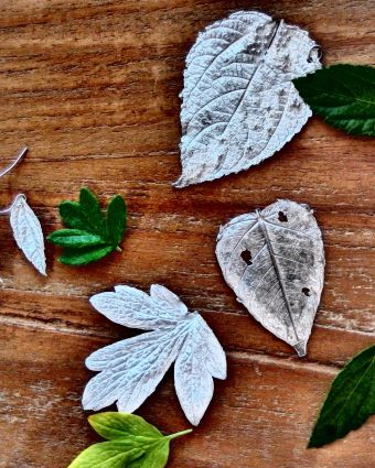 Learn How To Make Silver Leaves