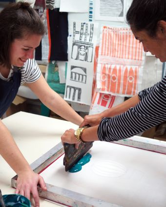 Textile Screen Printing Workshop