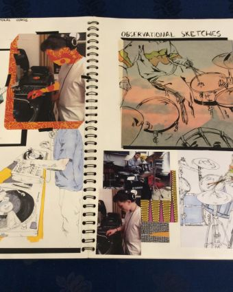 12 Week course- Portfolio preparation, application for art colleges &the UCAS process + P. Statement