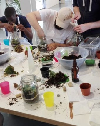 Terrarium Masterclass Eco-System & Prosecco at Obby East Village
