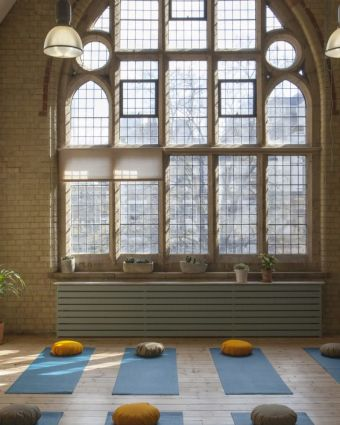 Guided Meditation, Candlelit Yoga, and Sound Healing - 'Turning In'