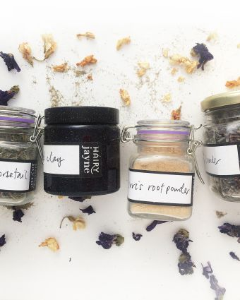 Make Your Own Dry Shampoo and Freshener Spray