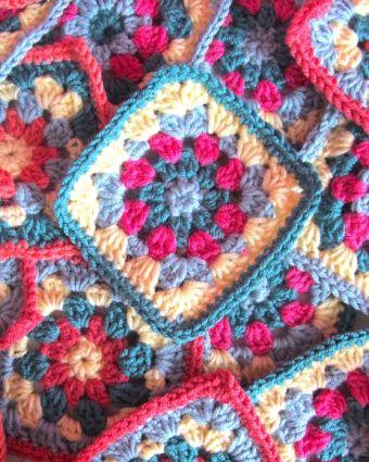 Granny Squares Crochet - Next Steps