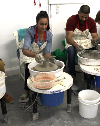Wheel Pottery (Weekday Evening Class 5 week course)