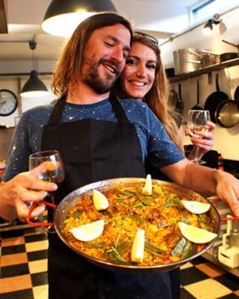 Private Paella Cooking Classes for Two At Your Place
