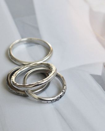 Silver Stackable Ring Workshop