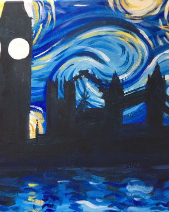 Paint Starry Night over London!