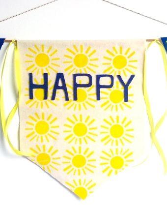 Monthly Family Workshop: Summertime Bunting Flag