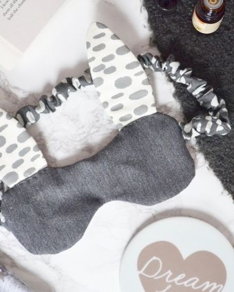 Sew a Bunny Sleep Mask (in collaboration with The Things She Makes)
