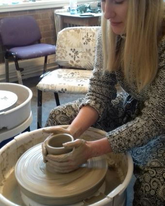 Beginners Pottery Wheel Class