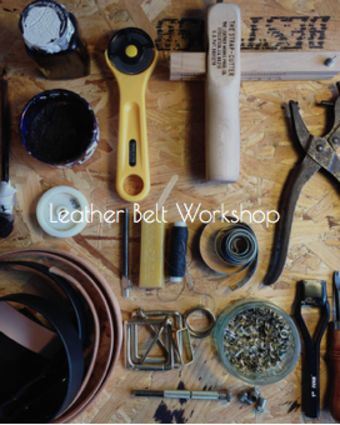 Beginners Introduction to Leather - Make Your Own Leather Belt