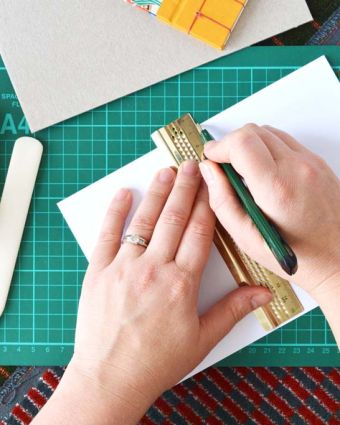 Designs on Britain Series: Bookbinding with Moquette with Amber Cooper-Davies