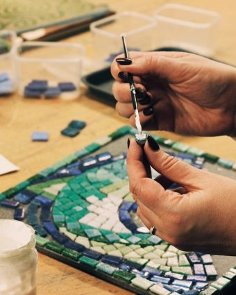 All levels Mosaic and Tile-Making Class!