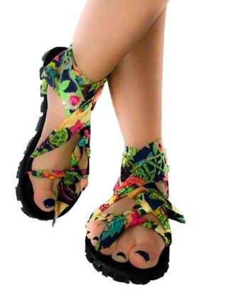 Create Your Own Up-cycled Tyre Sandals