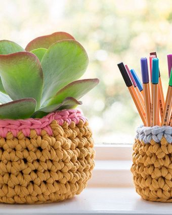 Crochet Baskets Workshop with Rachel Rogers