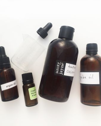 Make Your Own Hair Oil