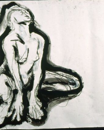 Life Drawing Class in an Artist's Working Studio