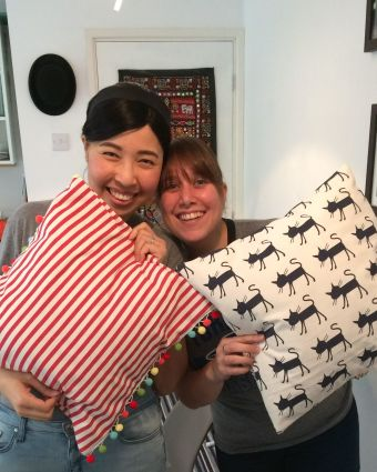 Beginners Sewing Lesson: Make a Cushion Cover