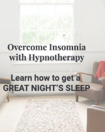 Learn How to Overcome Insomnia with Hypnotherapy - Fun, Friendly and Effective 4 Week Course