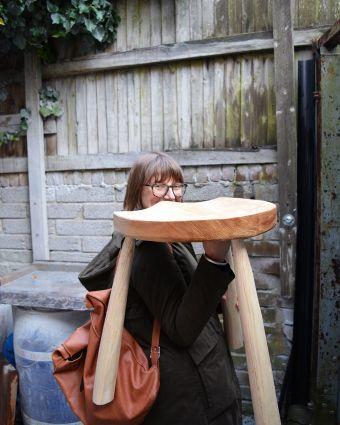Make a Windsor-Style Stool