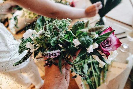 bloomon Flower Crown Workshop: Putney
