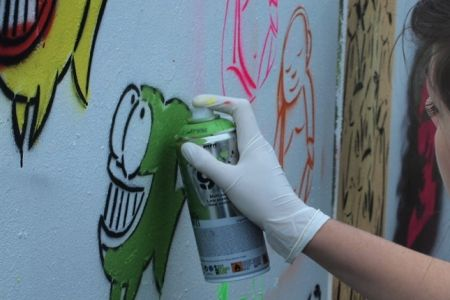 Graffiti Workshop with Street Art Tour: Full Session