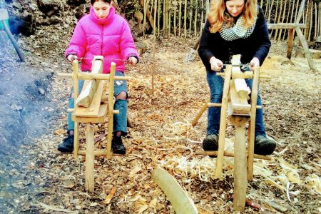 Learn safe whittling skills and explore the woods at Abney Park Cemetery.
