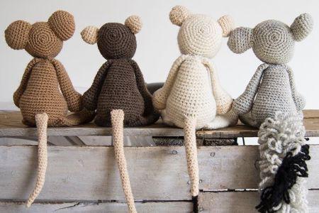 Learn to Crochet Amigurumi - make 'Bridget the Elephant'