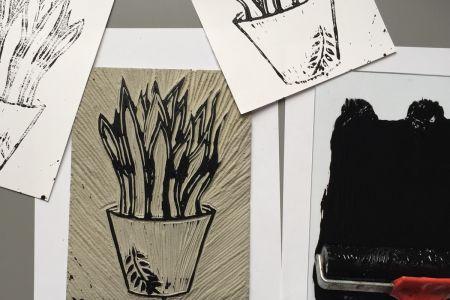 Love Grows Linocut Workshop