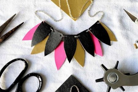 Leather Jewellery Workshop