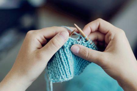 Beginners knitting class - Obby