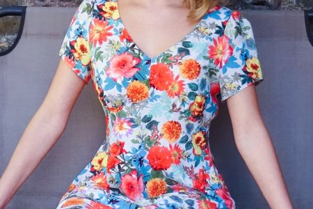 Intermediate sewing class in Wimbledon where you get to make a dress over two weeks - Obby