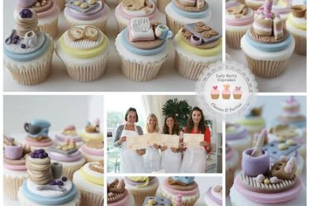 Craft adorable decorations for cupcakes! The Baking Miniatures Class walks you through making 12 baking-themed cupcake decorations in Wandsworth, London