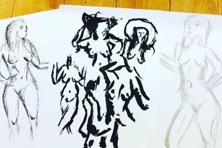 Make Your Own Life Drawing (BYOB!)