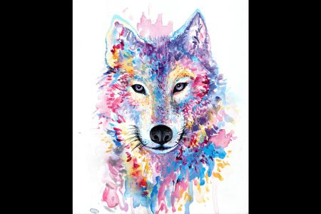 Masterpiece Painting Night - Wolf