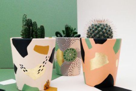 In this workshop you will make your own waterproof ceramic planter, and take home a cacti or succulent to put in it - Obby