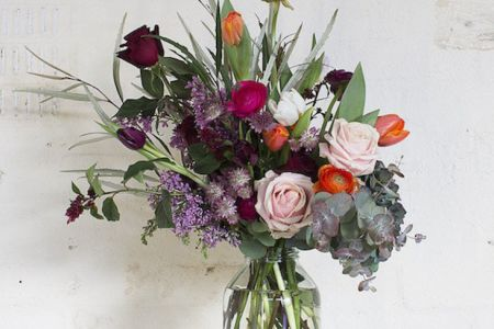 Join Grace and Thorn in Hackney for one of their floral workshops and learn how to create flower arrangements in their unique style - Obby