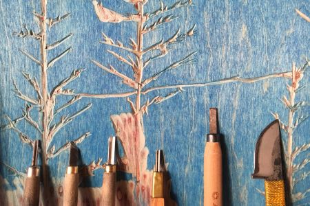 Learn Woodcut Printmaking With An Artist