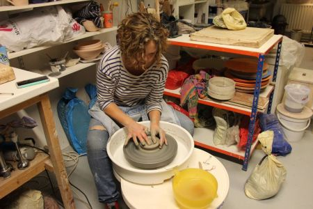 Beginners Pottery Wheel Throwing Course