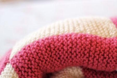 Beginners knitting: blanket - Obby