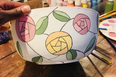 Paint Pottery and Bring Your Own Prosecco!