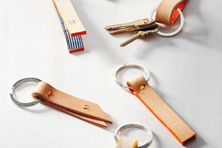 Get creative in this hands-on and versatile class, where you will be taught how to make your very own leather (or vegan leather) keychain or wallet.