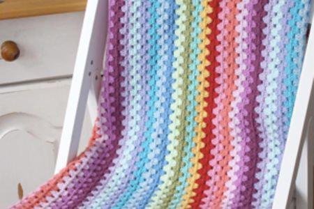Beginners crochet: granny stripes - Obby