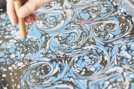 Paper Marbling - One Day Intro