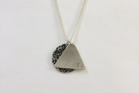 One Day Silver Layered Pendant Jewellery Making Workshop